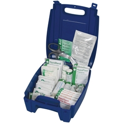 BSI Catering First Aid Kit Large (Blue Box) (Each) BSI, Catering, First, Aid, Kit, Large, Blue, Box, Nevilles