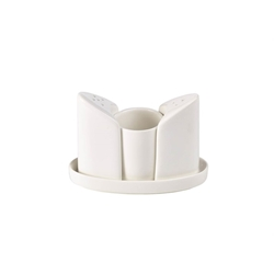 RGFC Condiment Set (4 Piece) (6 Pack) RGFC, Condiment, Set, 4, Piece, Nevilles