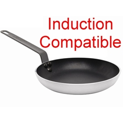Genware Induction Frypan 20cm Teflon Plus (Each) Genware, Induction, Frypan, 20cm, Teflon, Plus, Nevilles