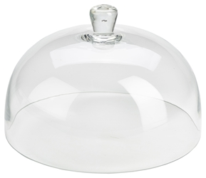 Glass Cake Stand Cover 29.8 x 19cm (Each) Glass, Cake, Stand, Cover, 29.8, 19cm, Nevilles