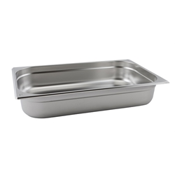 Stainless Steel Gastronorm Pan 1/1 - 65mm deep (Each) Stainless, Steel, Gastronorm, Pan, 1/1, 65mm, deep, Nevilles