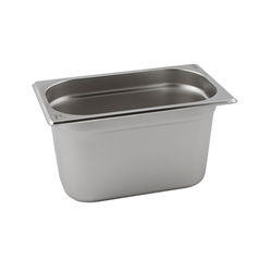 Stainless Steel Gastronorm Pan 1/4 - 65mm deep (Each) Stainless, Steel, Gastronorm, Pan, 1/4, 65mm, deep, Nevilles
