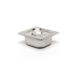 Stainless Steel Gastronorm Pan 1/9 - 100mm deep (Each) Stainless, Steel, Gastronorm, Pan, 1/9, 100mm, deep, Nevilles