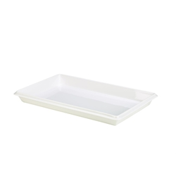 Royal Genware Gastronorm Dish 1/1 White 55mm (Each) Royal, Genware, Gastronorm, Dish, 1/1, White, 55mm, Nevilles