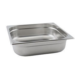Stainless Steel Gastronorm Pan 2/3 - 65mm deep (Each) Stainless, Steel, Gastronorm, Pan, 2/3, 65mm, deep, Nevilles