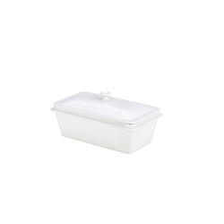 Royal Genware 1/3 Lid White (Each) Royal, Genware, 1/3, Lid, White, Nevilles