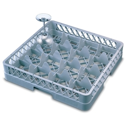 Genware 16 Comp Glass Rack With 2 Extenders (Each) Genware, 16, Comp, Glass, Rack, With, 2, Extenders, Nevilles