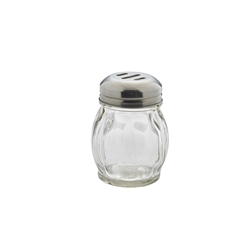 Glass Shaker, Slotted 17.5cl/6oz (Each) Glass, Shaker,, Slotted, 17.5cl/6oz, Nevilles