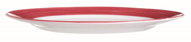 "Brush Cherry Red Dinner Plate 9.3"" 23.5cm (24 Pack) Brush, Cherry, Red, Dinner, Plate, 9.3"", 23.5cm"