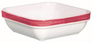 "Brush Cherry Red Square Multi Purpose Dish 4.3"" 11cm (24 Pack) Brush, Cherry, Red, Square, Multi, Purpose, Dish, 4.3"", 11cm"