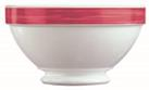 Brush Cherry Red Stackable Footed Bowl 17.5oz 50cl (36 Pack) Brush, Cherry, Red, Stackable, Footed, Bowl, 17.5oz, 50cl