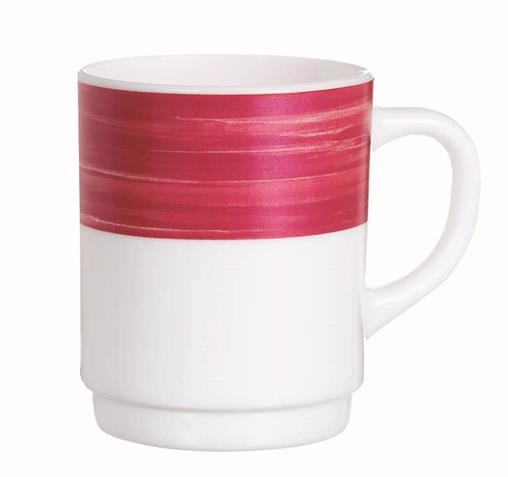 Brush Cherry Red Mug 8.8oz 25cl (36 Pack) Brush, Cherry, Red, Mug, 8.8oz, 25cl