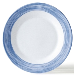 "Brush Blue Jeans Soup Plate 8.9"" 22.5cm (24 Pack) Brush, Blue, Jeans, Soup, Plate, 8.9"", 22.5cm"