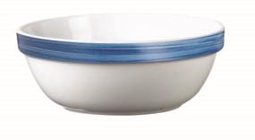 "Brush Blue Jeans Stackable Bowl 4.7"" 12cm (36 Pack) Brush, Blue, Jeans, Stackable, Bowl, 4.7"", 12cm"
