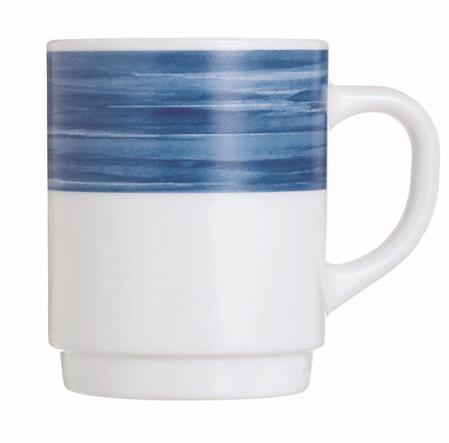 Brush Blue Jeans Mug 8.8oz 25cl (36 Pack) Brush, Blue, Jeans, Mug, 8.8oz, 25cl