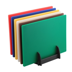 6 Colour (1 of Each) HD Chopping Board + Rack (Each) 6, Colour, 1, of, Each, HD, Chopping, Board, Rack, Nevilles