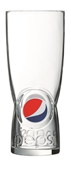 Pepsi Glass - New Design 16oz  (24 Pack) Pepsi, Glass, New, Design, 16oz,