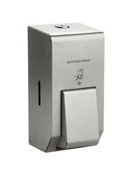 400ml Sanitiser Soap Dispenser -  Brushed Stainless