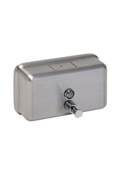 1200ml Horizontal Soap Dispenser -  Brushed Stainless