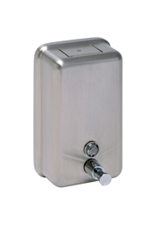 1200ml  Vertical Soap Dispenser -  Brushed Stainless