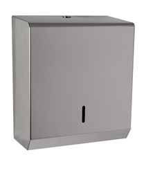 Hand Towel Paper Dispenser -  Polished Stainless