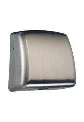 Quote Hand Dryer - Brushed Stainless