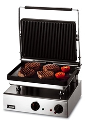 Ribbed Grill Large - ribbed top, smooth bottom
