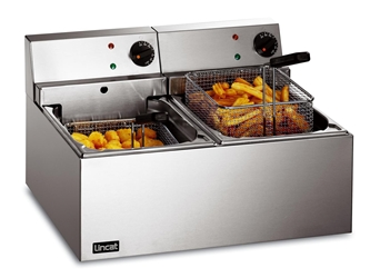 Fryer (Counter Top) Twin tank