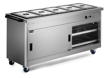 670 Series Hot Cupboard - Bain Marie Top
