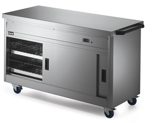 670 Series Hot Cupboard - Plain Top