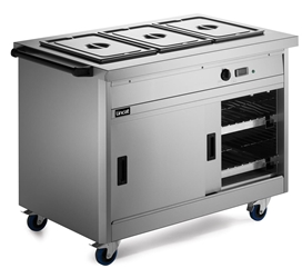800 Series Hot Cupboard - Bain Marie Top