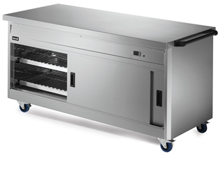 800 Series Hot Cupboard - Plain Top