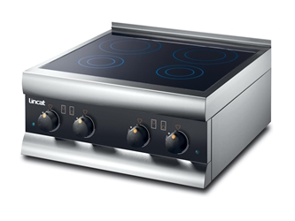 four zone induction hob