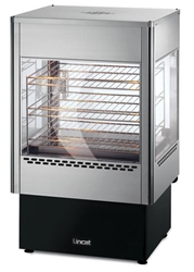 Upright Heated Merchandiser with Oven