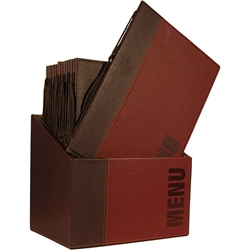 Contemporary Menu Box + 20 A4 Wine Red Menus (Each) Contemporary, Menu, Box, 20, A4, Wine, Red, Menus, Nevilles