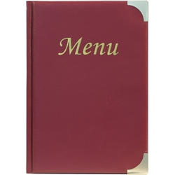 A5 Menu Holder Wine Red 8 Pages (Each) A5, Menu, Holder, Wine, Red, 8, Pages, Nevilles