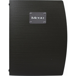 Rio A4 Menu Holder Black 4 Pages (Each) Rio, A4, Menu, Holder, Black, 4, Pages, Nevilles