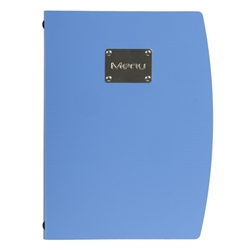 Rio A4 Menu Holder Blue 4 Pages (Each) Rio, A4, Menu, Holder, Blue, 4, Pages, Nevilles