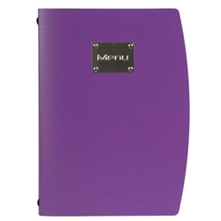 Rio A4 Menu Holder Purple 4 Pages (Each) Rio, A4, Menu, Holder, Purple, 4, Pages, Nevilles
