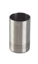Bonzer Thimble Measure 50ml S/S CE