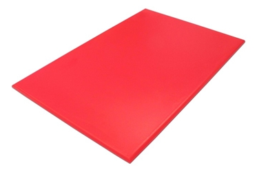 "Cutting Board NSF L18"" x W12"" x H1/2""  (457.2 x 306.2 x 12.7mm) Red"
