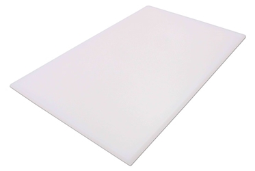 "Cutting Board NSF L18"" x W12"" x H1/2""  (457.2 x 306.2 x 12.7mm) White"
