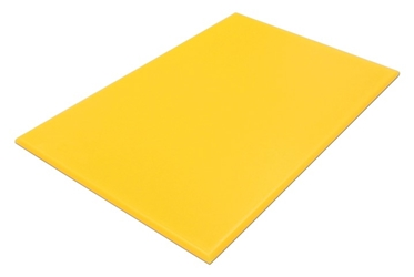 "Cutting Board NSF L18"" x W12"" x H1/2""  (457.2 x 306.2 x 12.7mm) Yellow"