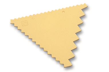 Matfer Polypro. Pastry Decorating Comb