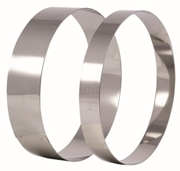 Matfer S/S Mousse Ring 160 x 45mm