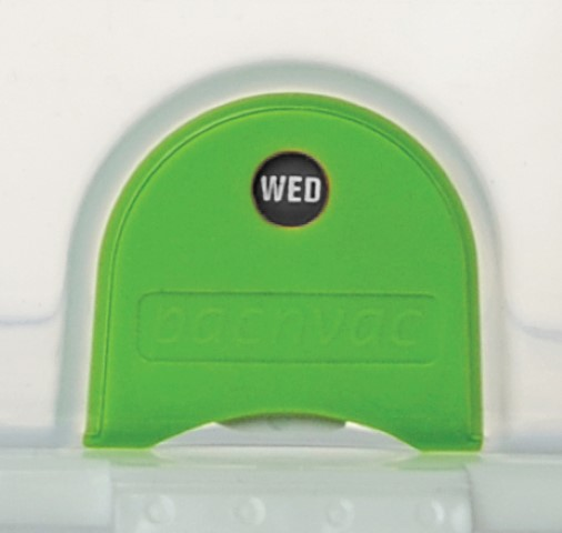 Pacnvac Day Indicator Green (Fruit & Salad)
