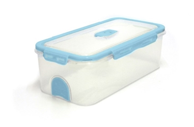 Pacnvac Standard Storage Container Straight Sided GN 1/3 Blue
