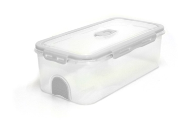 Pacnvac Standard Storage Container Straight Sided GN 1/3 White