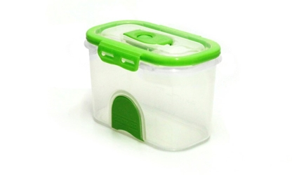 Pacnvac Standard Storage Container Straight Sided GN1/9 Green