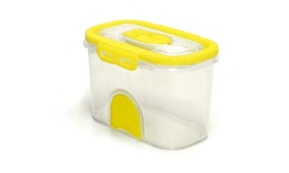 Pacnvac Standard Storage Container Straight GN 1/9 Yellow